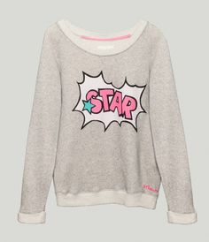 81hours Cotton Sweater Ruby Star - SHOP NOW: http://www.81hours.com/shop/Tees/Sweaters/81hours-Cotton-Sweater-Ruby-Star.html #81hours #81 #hours #fashion #new #arrival #knitwear #ss14 #spring #summer #2014 #sweatshirt #sweate #print #bubble #star #pink #grey #melange #musthave #jumper #printed