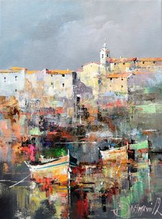 Branko dimitrijevic, croatian coast, oil on canvas, kunst bilder, a City Painting, Oil Painting Abstract, Painting & Drawing, Watercolor Paintings, Skyline Painting, Portrait Paintings, Acrylic Paintings, Art Paintings, Abstract City