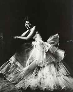 Photographed by Milton Greene, 1953