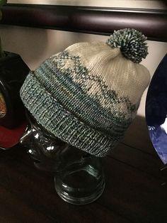 Stranded Diamonds Hat by Thea Colman 1 malabrigo Washted in NAtural and  Indiecita Diamanty 1de5dca46d