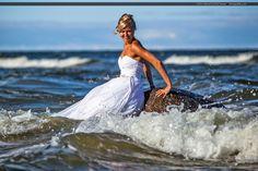 """Sesja ślubna nie musi być nudna  29 września - idealna pora na """"wodny plener""""…"""