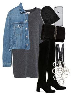 """Untitled #1733"" by mariie00h ❤ liked on Polyvore featuring Fine Collection, Zara, Yves Saint Laurent, Banana Republic and Forever 21"