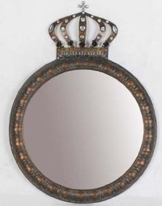 151fb3a48ac Four Seasons- Antique Gold Bronze Vintage Style Ornate Crown Jewelled Style  Wall Mirror  Amazon.co.uk  Kitchen   Home · Shabby Chic FramesCrown ...