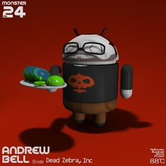Sho Baba - Google+ - 【Halloween Bugdroid 3DCG Project】 No.24 +Andrew Bell  from…