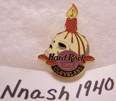 Hard Rock Cafe Flower Pin