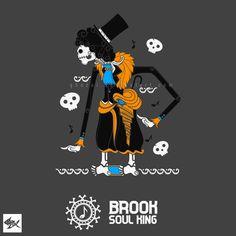 Brook Wayang One Piece - Straw Hat Pirates by Manzur Ghozaali, via Behance