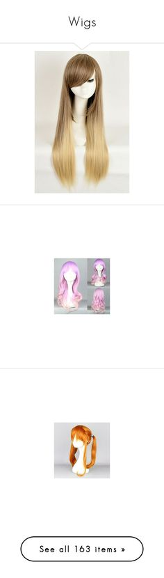 """""""Wigs"""" by mscreepycreator ❤ liked on Polyvore featuring beauty products, haircare, hair styling tools, hair, blonde, wig, idania bizhiw- hairstyle, blue wig costume, cosplay costumes and role play costumes"""