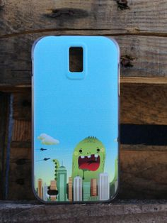 T Mobile Samsung Galaxy S2 Comic Monster Case