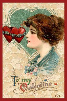 Olde America Antiques | Quilt Blocks | National Parks | Bozeman Montana : Valentine - To My Valentine