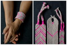DIY Macrame Friendship Bracelet