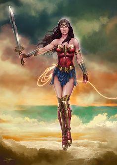 Wonder Woman by DanielPillaArt.deviantart.com on @DeviantArt