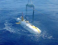 r2D4。日本に拠点を置く海中工学研究センターによって開発された海中の調査などに対応するAUV(自律型無人潜水機)の一つ。ロドリゲス島の沖合約200kmに潜航させて熱水活動を確認したとのこと。最高速度は3ノット。