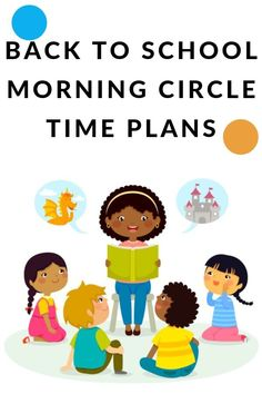 Back to School Morning Circle Time Plans: Everything you need to have a successful first week of school morning circle time with the students from songs to sings and books to read. Circle Time Songs, Circle Time Activities, Preschool Learning Activities, Literacy Skills, Early Literacy, Kindergarten Teachers, Elementary Teacher, Student Motivation, Teacher Organization