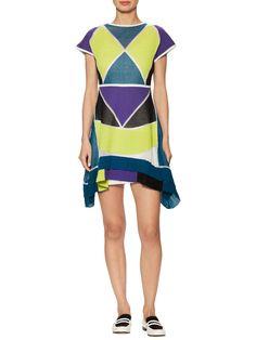 Intarsia Boatneck Midi Dress  from M Missoni on Gilt