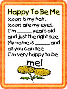 Chrysanthemum book & activity to teach about being different. (Respect) Super cute idea for primary or preschool Back To School Poem, Beginning Of The School Year, First Day Of School, First Day Poem, First Grade Songs, Name Activities, Preschool Songs, Preschool Classroom, Kindergarten Poems
