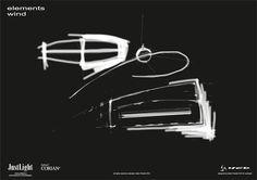 JustLight Elements - Wind  https://www.facebook.com/justlightpl    #Corian #Coriandesign #JustLight #Solidsurface