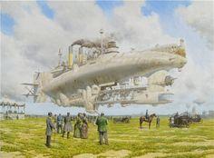 Painting by Vadim Voitekhovitch