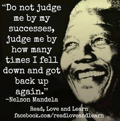 Nelson Mandela quote via www.Facebook.com/ReadLoveAndLearn