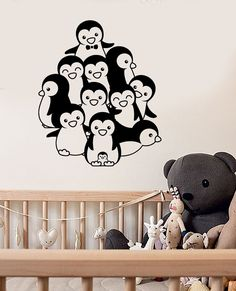 Dressers Black Walls and More! Nursery Series Boston Terrier 5 Sticker for Cribs 2x