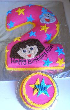 Dora #2 birthday cake