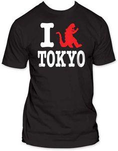 Godzilla I Godzilla Tokyo Mens Tee | Generation T