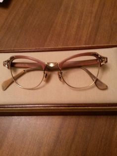 1950s Bausch & Lomb Cateye Eyeglasses Frame by AntiqueOptical