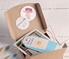 Sorprende a tus invitados con esta caja para polaroids #Idea #DIY