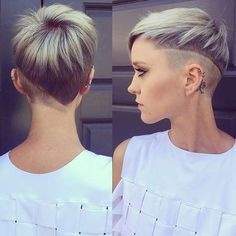 Geometric HairUndercut