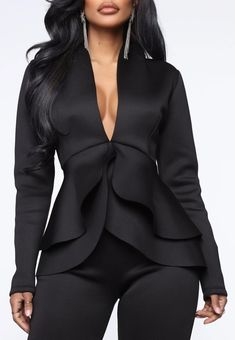 Blazer, Suits, Blouse, Long Sleeve, Sleeves, Jackets, Tops, Women, Fashion
