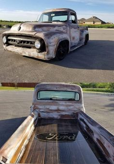 Ford mit Coyote, - Klassiche Ford Auto Ford mit Coyote, - Klassiche Ford Auto - square body truck pics of rat rod trucks 🗳 DM Your Classic Bagged Truck 4 Feature ⤵️⤵️⤵️⤵️ FORD INFO ⤵️⤵️⤵️⤵️ Chevy Trucks, Old Pickup Trucks, Lifted Trucks, Truck Drivers, Auto Design, Pickup Auto, Honda Pickup, Jeep Pickup, 1953 Ford F100