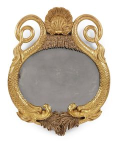 A REGENCY GILTWOOD AND SILVERED MIRROR   EARLY 19TH CENTURY   Furniture & Lighting, mirrors   Christie's Convex Mirror, Ornate Mirror, Old Mirrors, Vintage Mirrors, Vintage Wood, Mirror Mirror, Victorian Style Homes, Mirror Plates, Mirror Painting