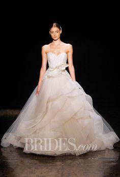 Lazaro Wedding Dresses Fall 2014 Bridal Runway Shows | Wedding Dresses Style | Brides.com