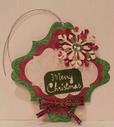 Christmas tag - Silhouette Cameo