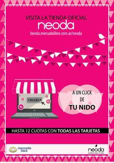 La nueva tienda online de Mercado Libre.
