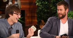 Celebrity Chris Hemsworth left his wallet and knew he'd never see it again. But Eagle Scout and all around good guy Tristin found the wallet and knew he had to give it back. And the 'Thank You' he is getting will put the biggest smile on your face!