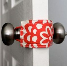 Door Jammer  Allows you to open and close a door without making a sound. Great baby shower gift. Also prevents little ones from shutting themselves in a room