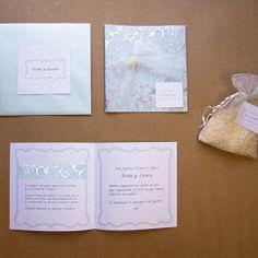 Bodas: Invitación especial texturas