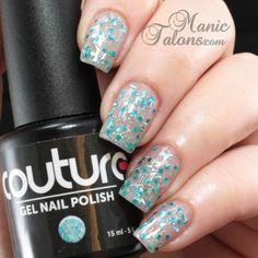 Couture Gel Polish Drama Queen Swatch #soakoffgel #gelpolish