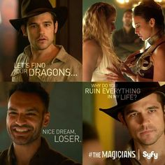 The Magicians - SyFy ....love!