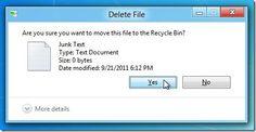 La solución para recuperar archivos borrados accidentalmente