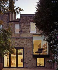 Twickenham townhouse renovation by Coup De Ville Architects, London.