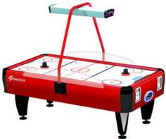 Genesis Air Hockey Table - Free Play / Non Coin From Barron Games