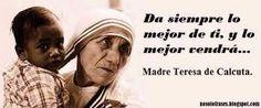 frases de la madre teresa de calcuta para compartir en facebook - Buscar con Google