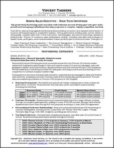 Rf Sales Engineer Sample Resume Resume Samples For All Professions And  Levels  C Level Resume