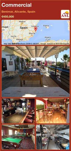 Commercial for Sale in Benimar, Alicante, Spain - A Spanish Life Murcia, Valencia, Table Football, Alicante Spain, Bbq Area, Dart Board, Pool Table, Restaurant Bar, Game Room