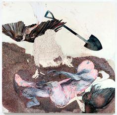 "Artist painter Kymia Nawabi, ""Not For Long, My Forlorn"""