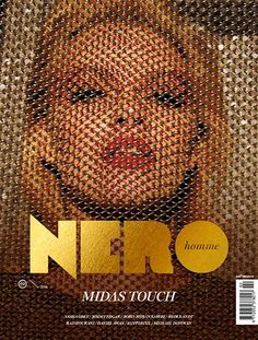 NERO Homme is a London and Budapest based male fashion and erotic contemporary art magazine. Cool Magazine, Print Magazine, Magazine Art, Graphic Design Print, Graphic Design Layouts, Graphic Design Inspiration, Design Editorial, Magazine Cover Design, Magazine Covers