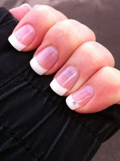 French nails = Very Classy