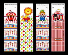 The Circus: Free Printable Original Nuggets or Gum Wrappers. Barbie Em Paris, Circus Invitations, Circus Crafts, Vintage Circus Party, Oh My Fiesta, Happy 1st Birthdays, Candy Bar Wrappers, Free Prints, Craft Fairs