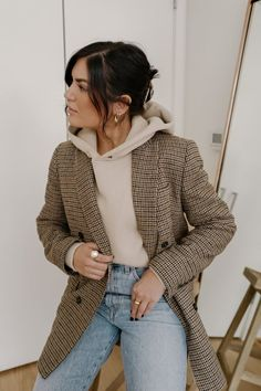 Winter Fashion Outfits, Fall Winter Outfits, Look Fashion, Spring Outfits, 2000s Fashion, Fall Outfit Ideas, Winter Style, Cold Spring Outfit, Spring Fashion